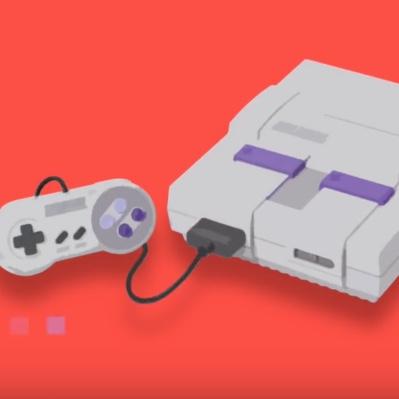 The Super Nintendo Entertainment System.