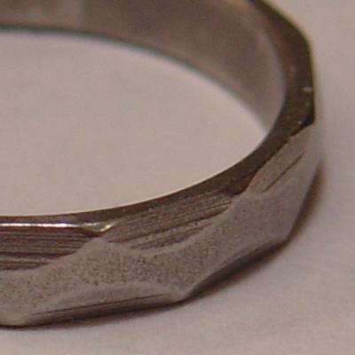 A metal ring.